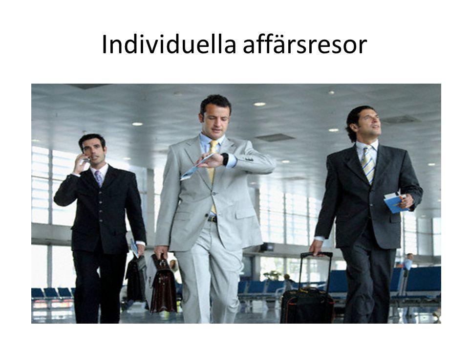 Individuella affärsresor