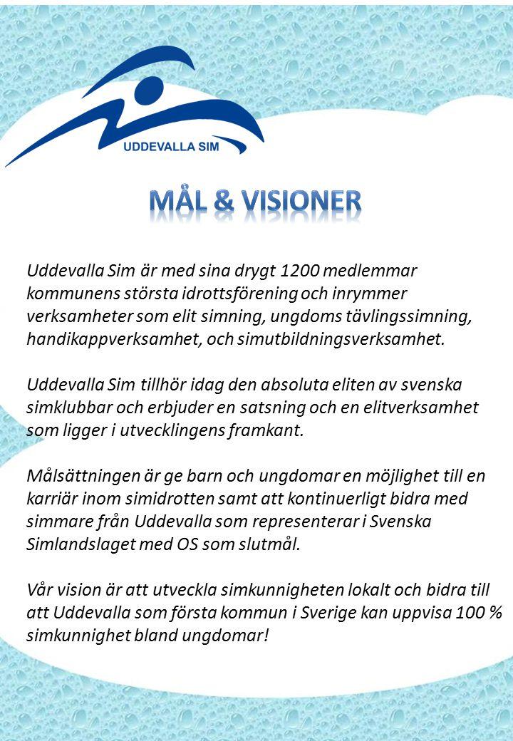 Uddevalla Sim är med sina drygt 1200 medlemmar kommunens största idrottsförening och inrymmer verksamheter som elit simning, ungdoms tävlingssimning, handikappverksamhet, och simutbildningsverksamhet.