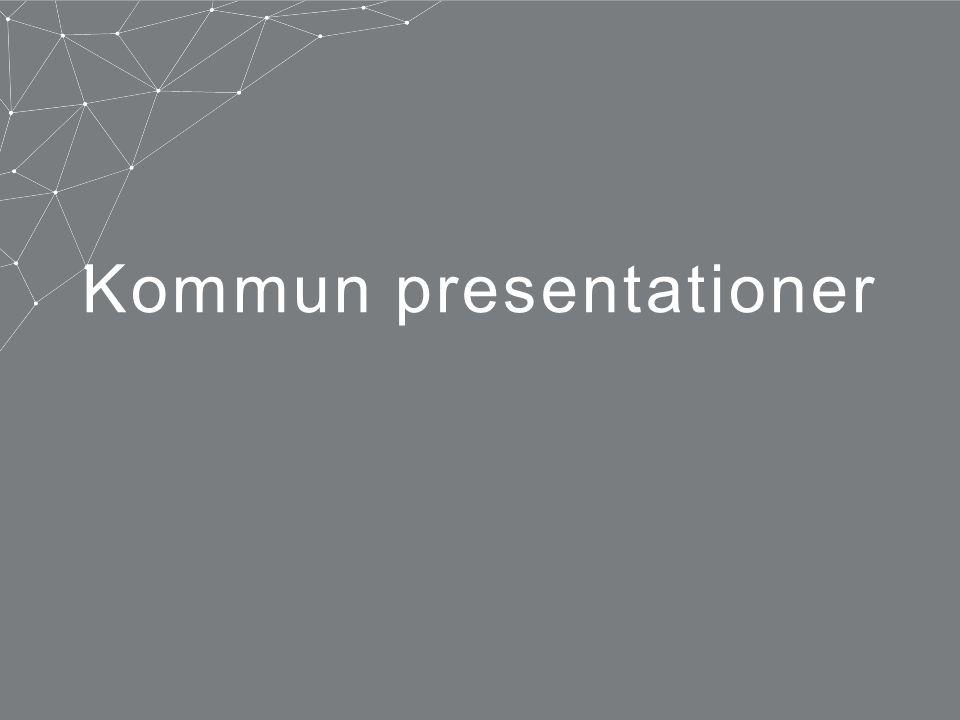 Kommun presentationer