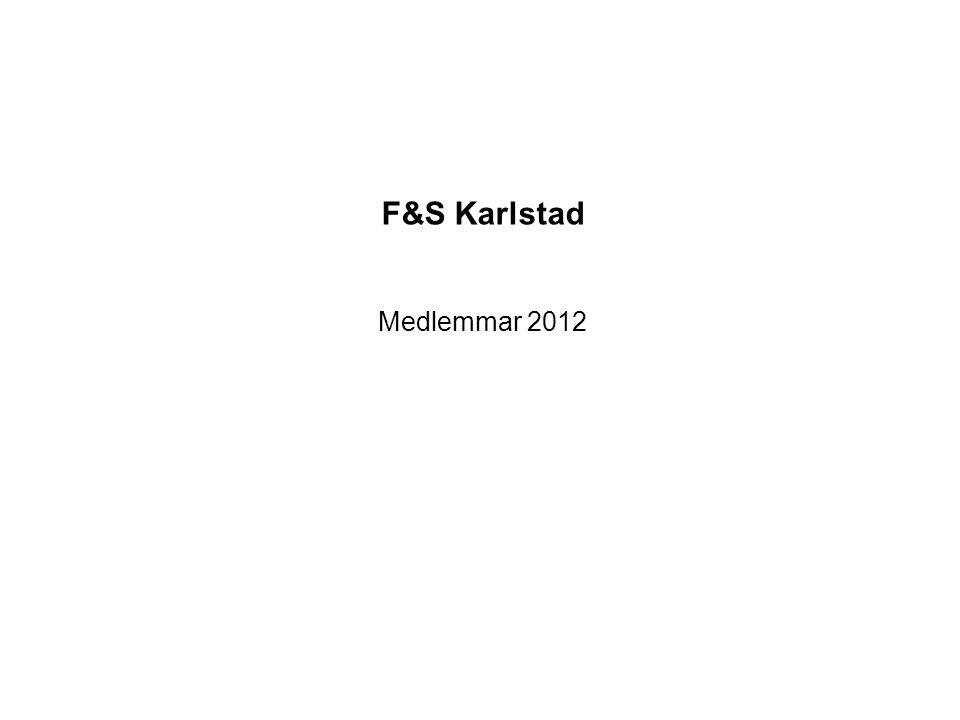 F&S Karlstad Medlemmar 2012