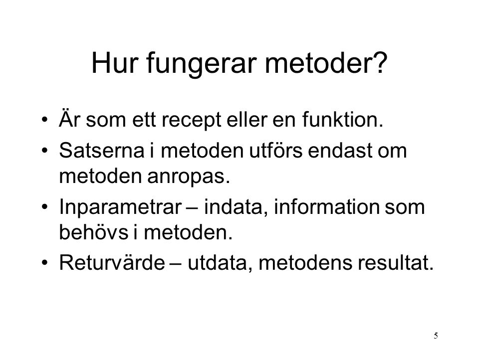 15 API:n API står för Application Programming Interface.