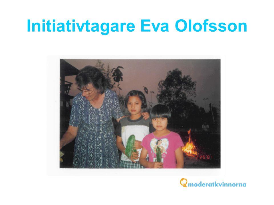 Initiativtagare Eva Olofsson