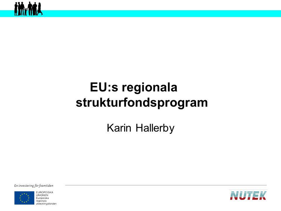 Lissabonstrategin:s mål EU ska vara den mest konkurrenskraftiga och dynamiska kunskapsbaserade ekonomin i världen år 2010, byggd på social trygghet och hållbar utveckling .