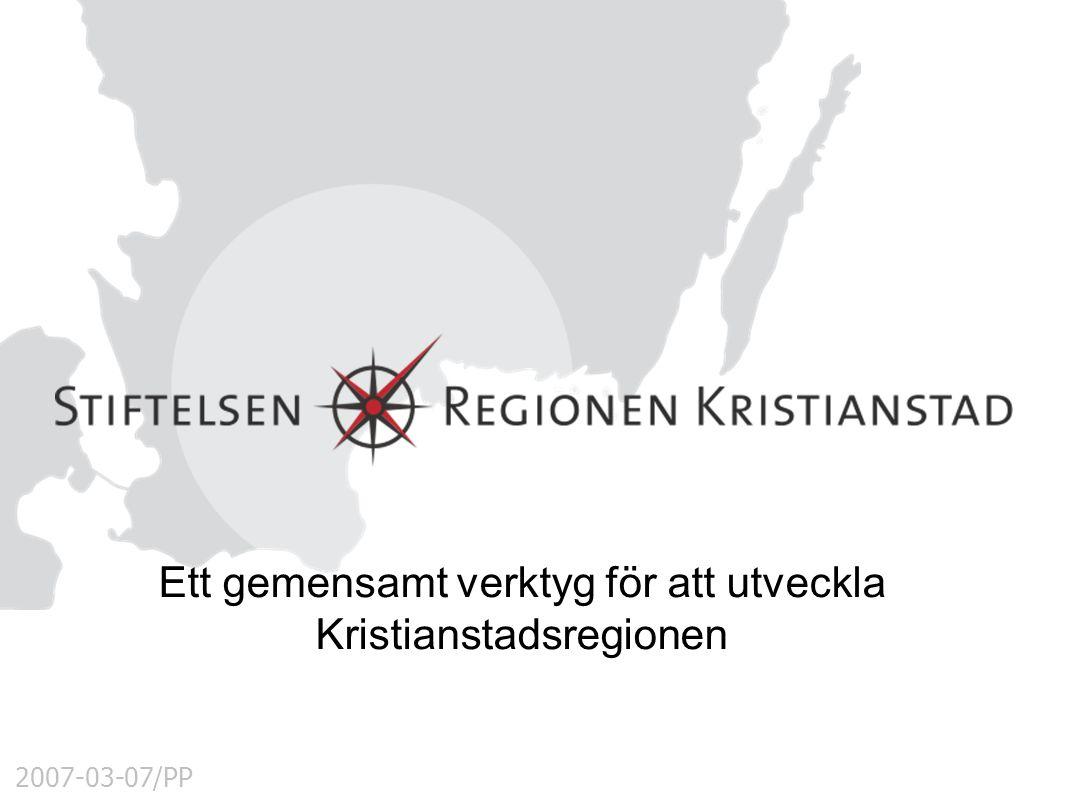 2007-03-07/PP Ett gemensamt verktyg för att utveckla Kristianstadsregionen