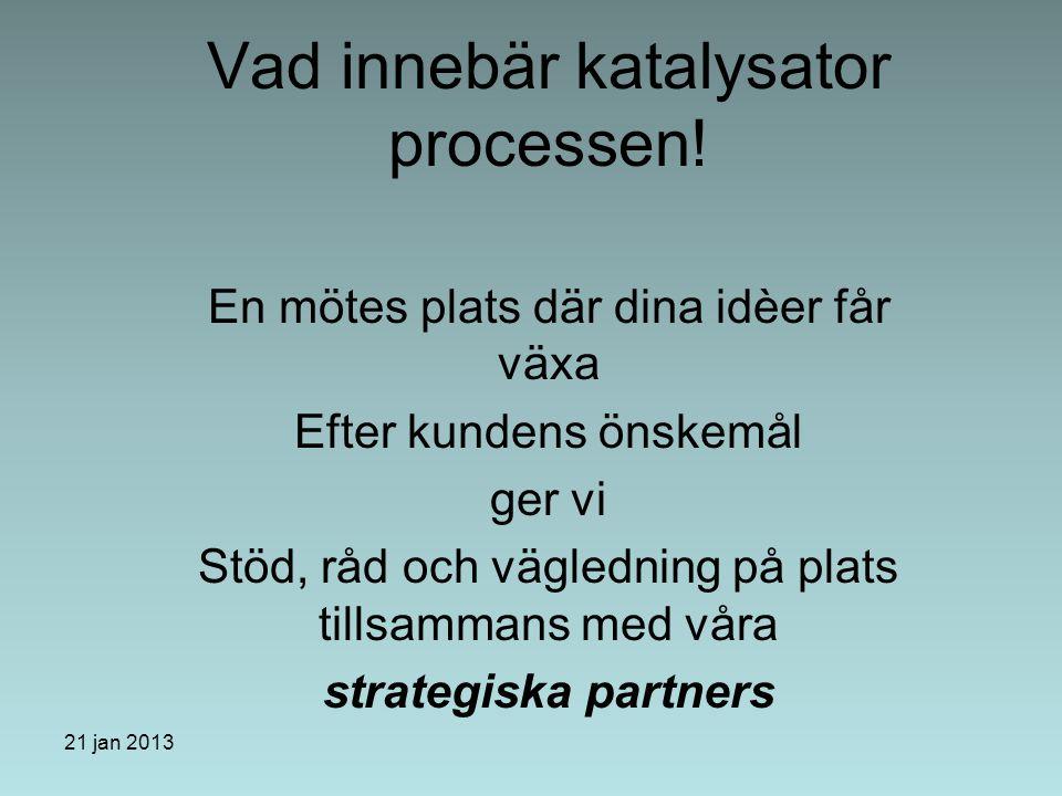 21 januari 2013 Varför välja Business Management Øresund.