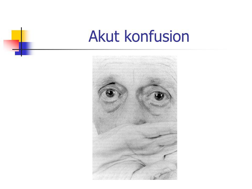Akut konfusion