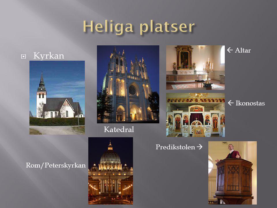  Kyrkan Katedral  Altar Predikstolen   Ikonostas Rom/Peterskyrkan