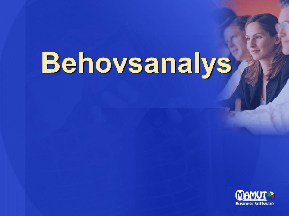 Behovsanalys
