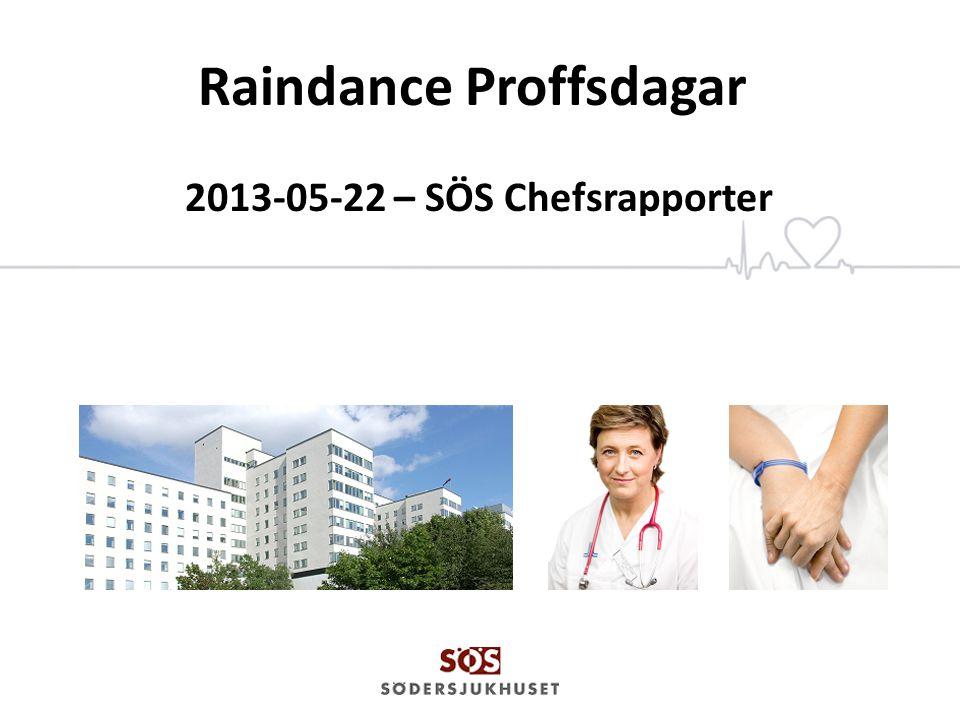 SÖS – Södersjukhuset AB Invigdes år 1944 => 70 år 2014 Blev aktiebolag 2002 ägs av SLL Akutsjukhus för 500 000 stockholmare