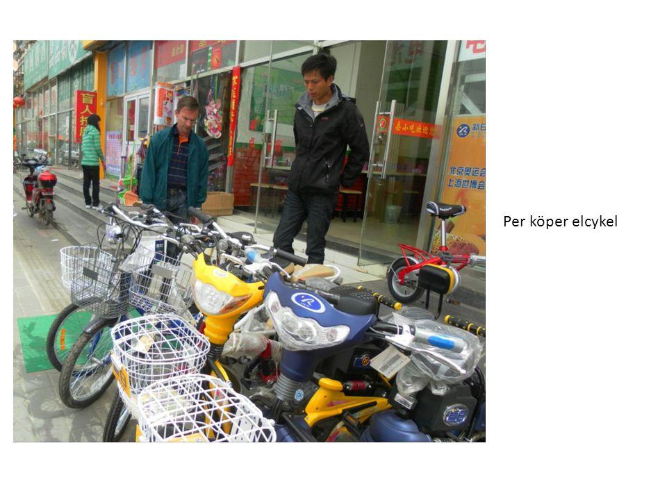 Per köper elcykel