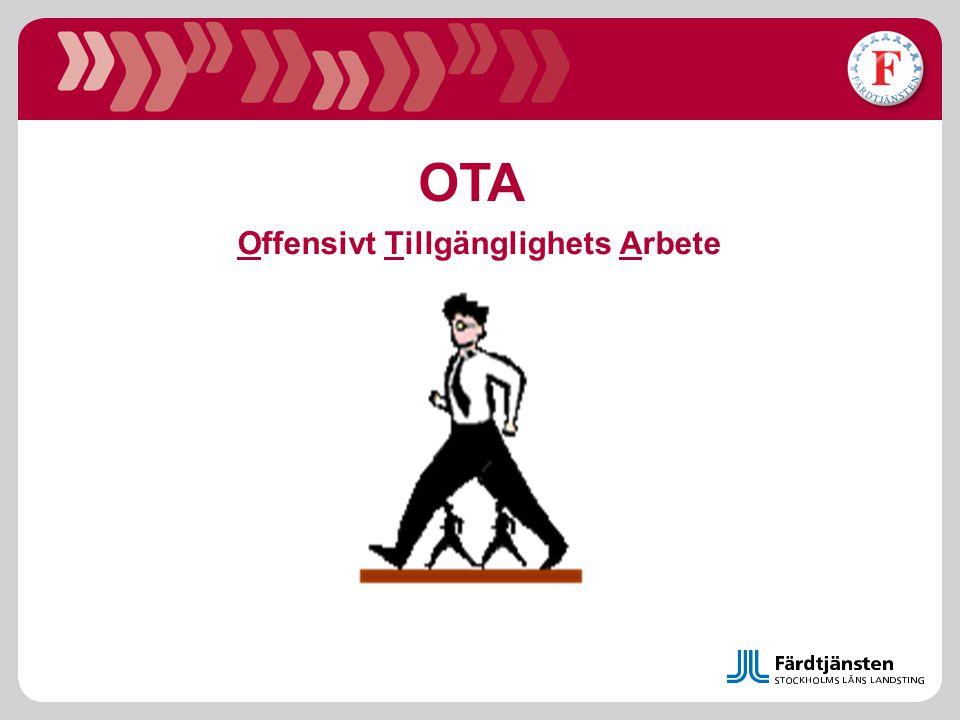 Offensivt Tillgänglighets Arbete OTA