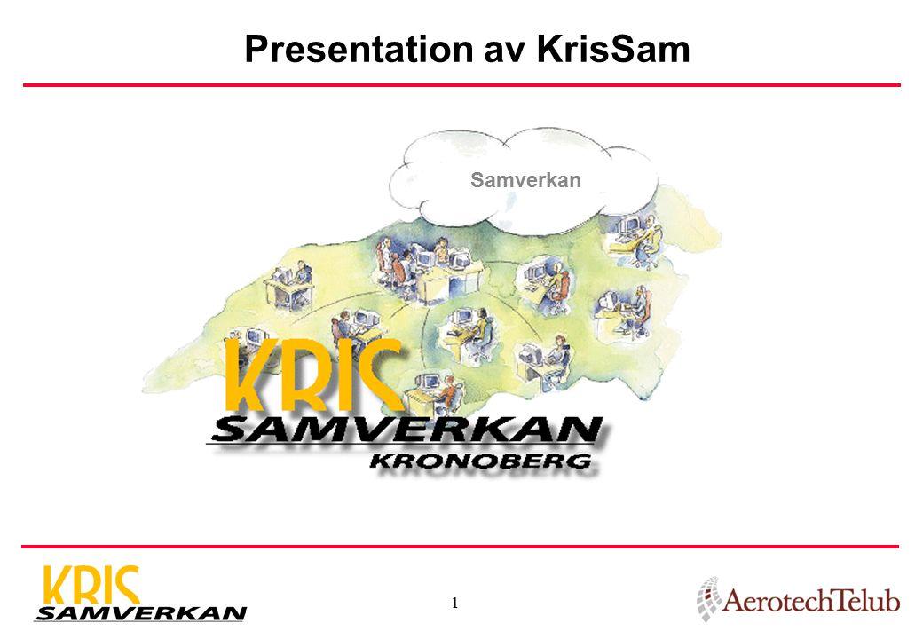 1 Presentation av KrisSam Samverkan