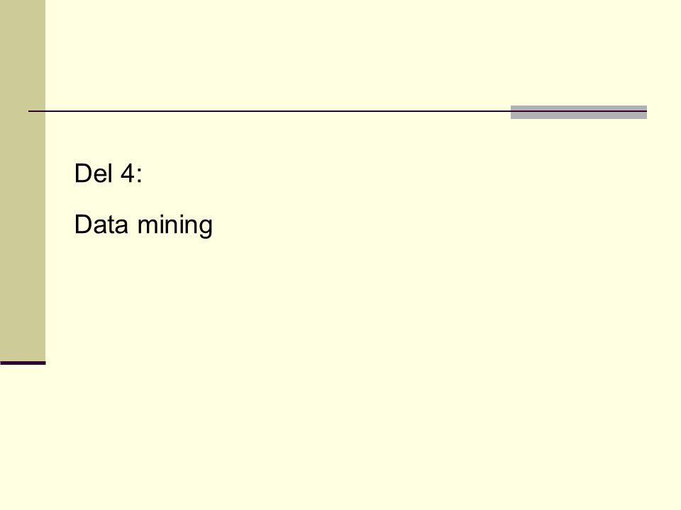 Del 4: Data mining