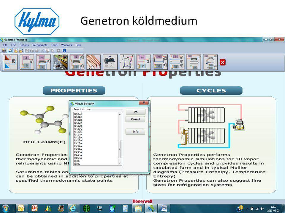 Genetron köldmedium