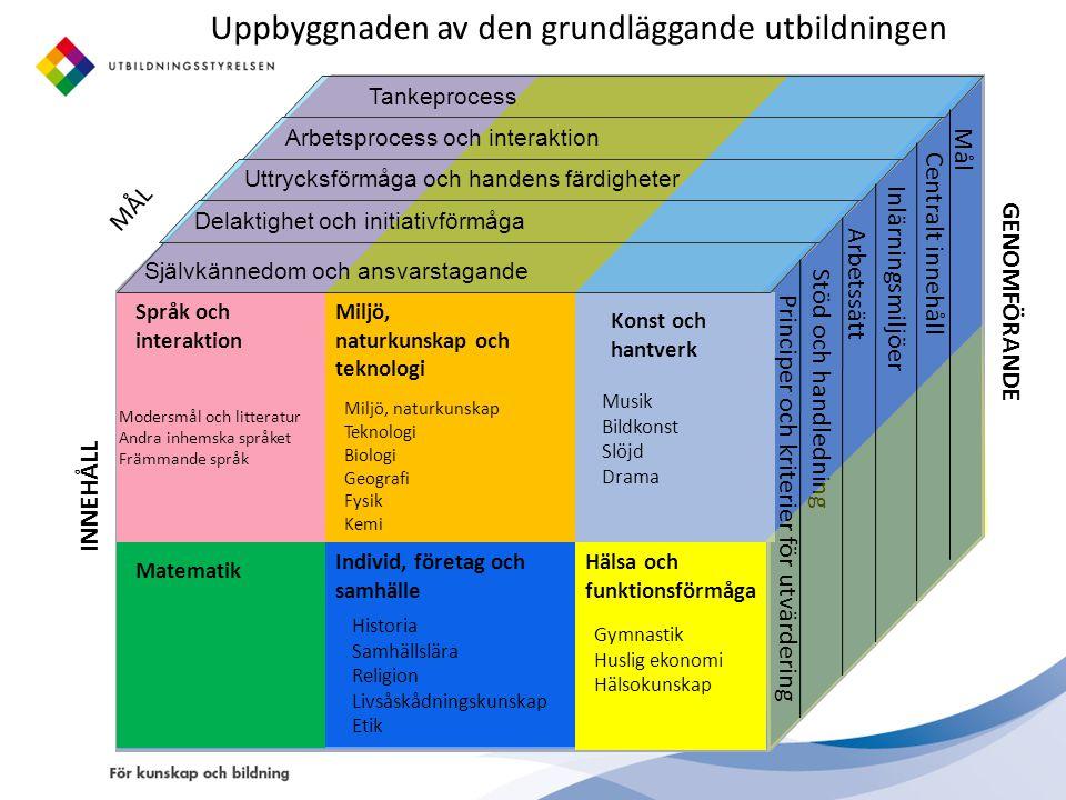 Arbetsgruppens förslag: Studierna i A1-språket ska inledas senast i årskurs 2.