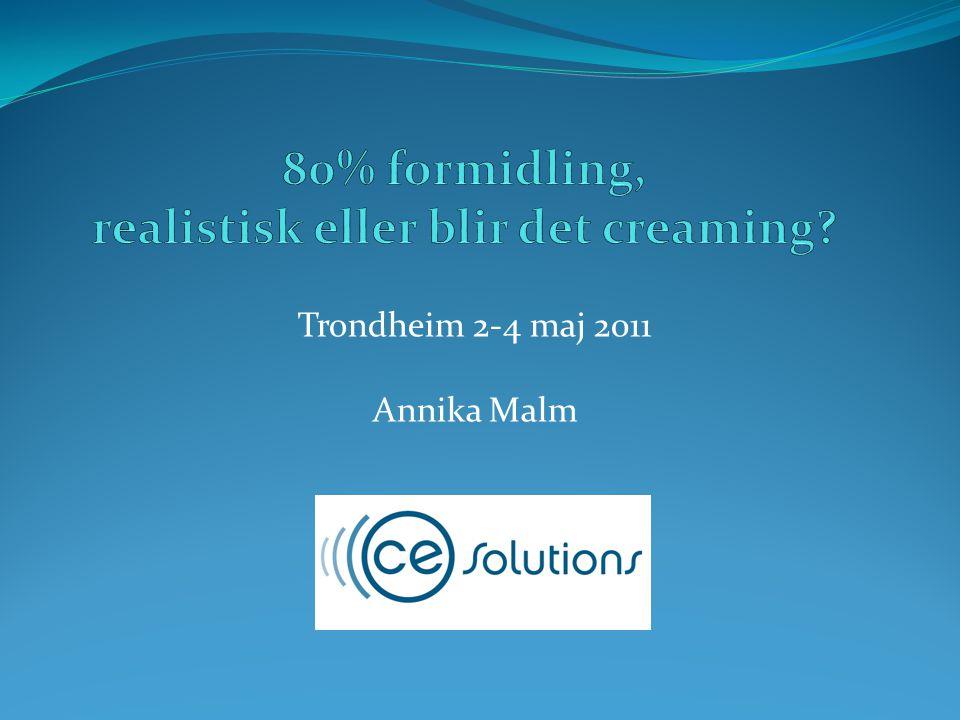 Trondheim 2-4 maj 2011 Annika Malm