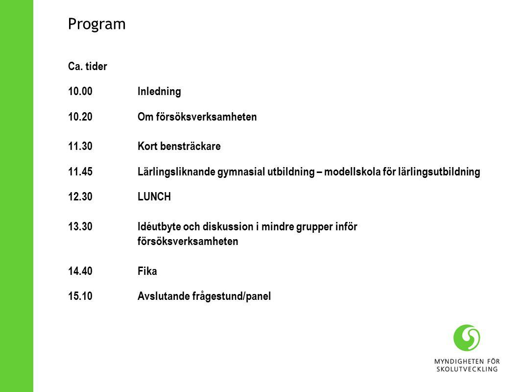 Program Ca.