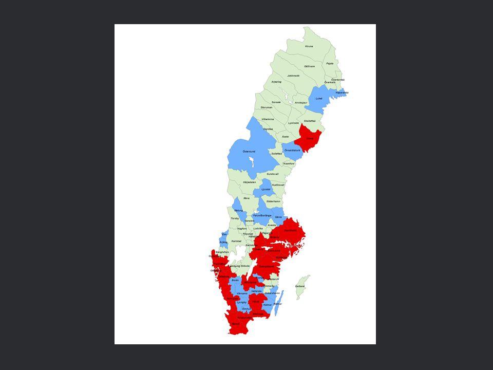 Tillväxt 2007-11Mrd.krAndel Totalt61100% Topp 254065% Topp 102338% Topp 31220% 200 lägsta611% Handeln i Sverige/HUI