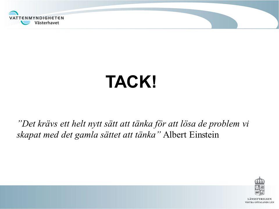 Det krävs ett helt nytt sätt att tänka för att lösa de problem vi skapat med det gamla sättet att tänka Albert Einstein Tack.