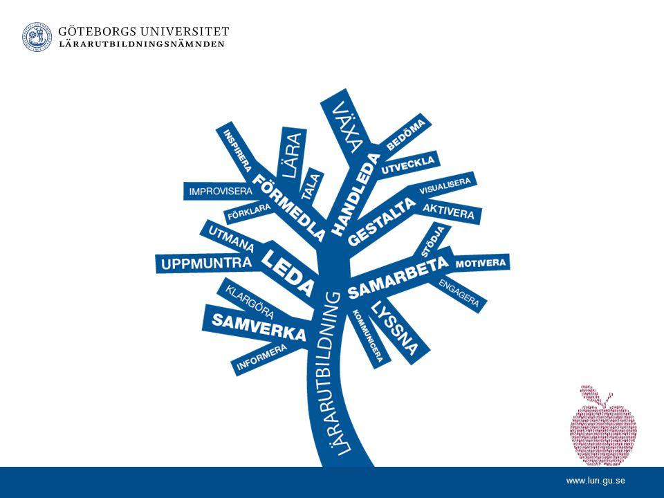 www.lun.gu.se Gruppdiskussioner – Hur går vi vidare? Hur kan vi stärka delaktigheten i lärarutbildningen för lokala lärarutbildare? Praxisseminarier –