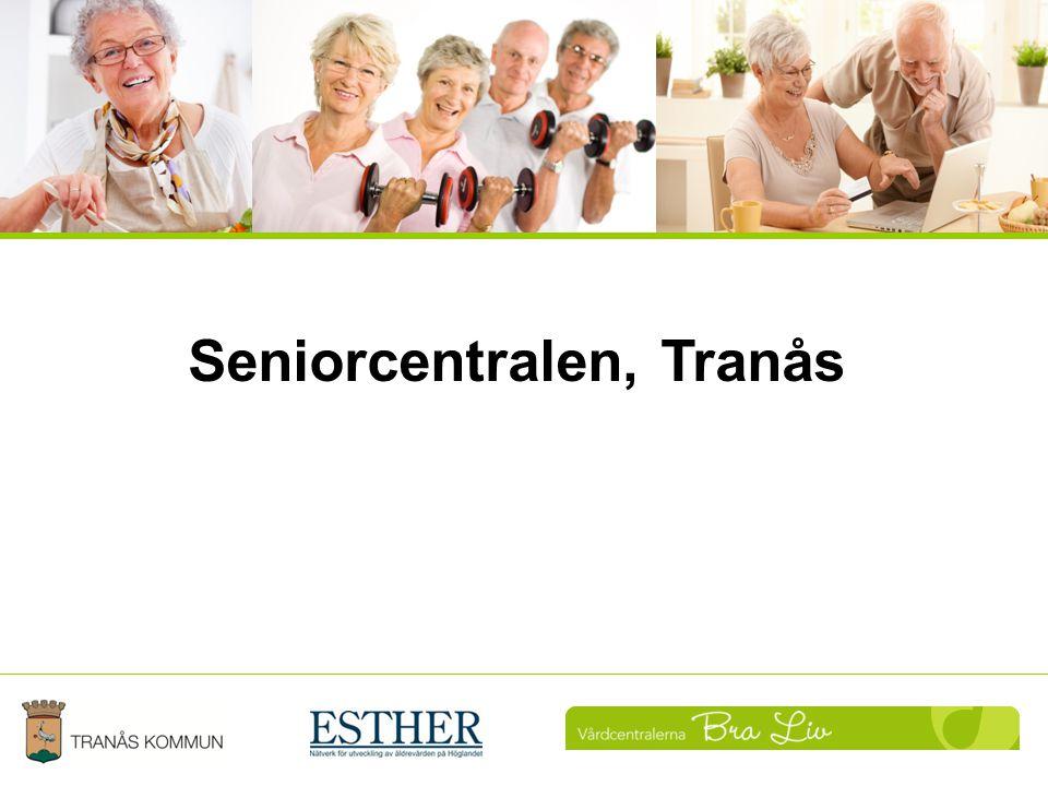 Landstingets roll Att få senioren engagerad och ta eget ansvar för sin hälsa.