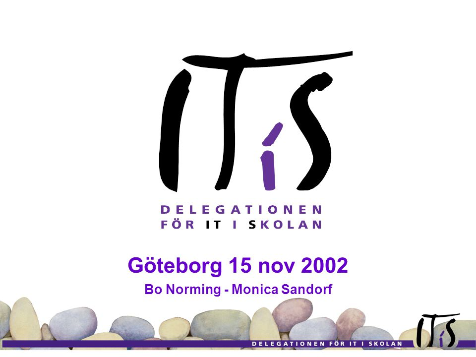 Göteborg 15 nov 2002 Bo Norming - Monica Sandorf