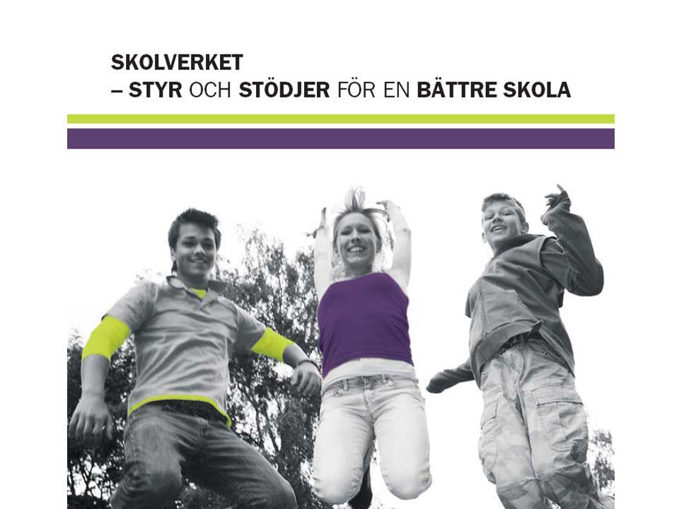 Studie- och yrkesorientering Vad gör Skolverket inom området.