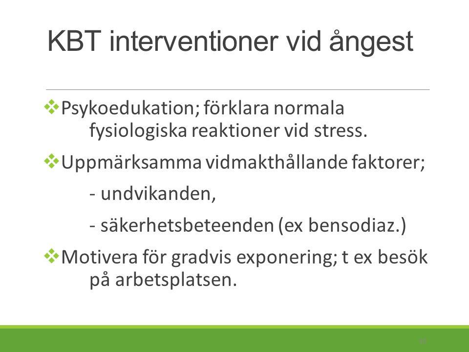Litteraturtips: Diagnostik: Psykiatri Red: Herlofson J., Ekselius L., Lund L- G., Lundin A., Mårtensson B., Åsberg M.