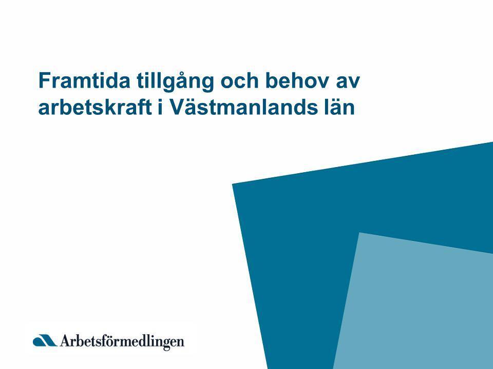 Framtida tillgång och behov av arbetskraft i Västmanlands län
