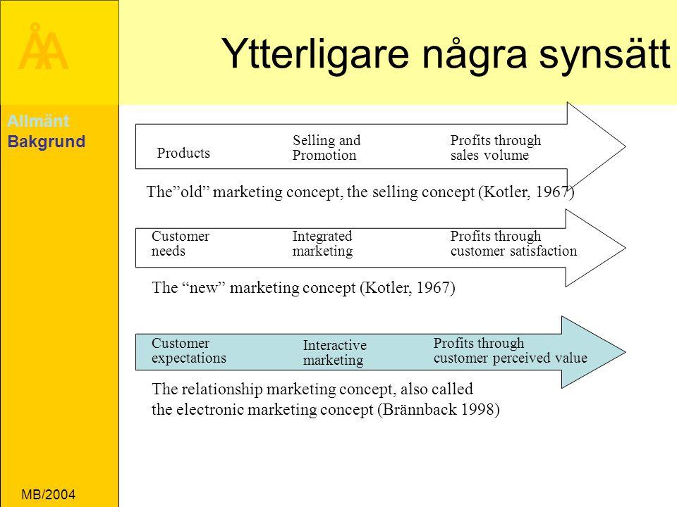 ÅA MB/2004 Vilka är kundens verkliga kriterier Kunden säger pris .