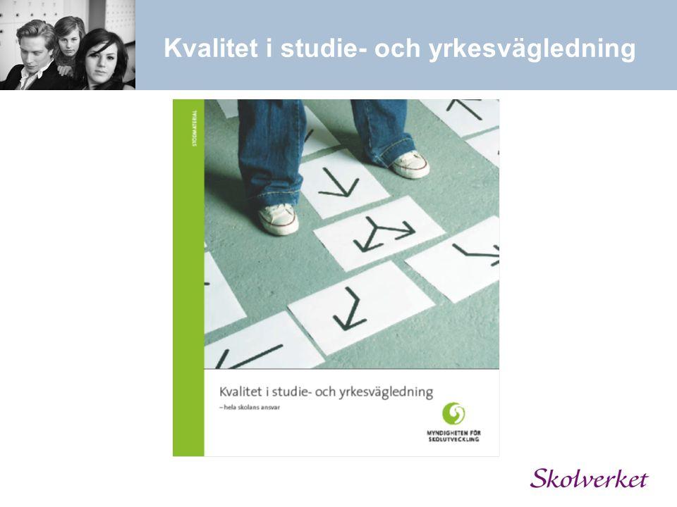 Kvalitet i studie- och yrkesvägledning