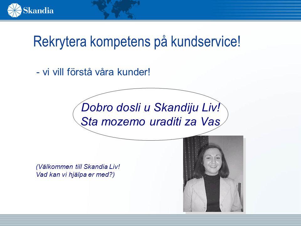 Mångfald i Göteborg I januari 2001 fanns på vårt kontor i Göteborg 21% som har ett ursprung utanför Sverige Tillsammans talar vi 20 olika språk.