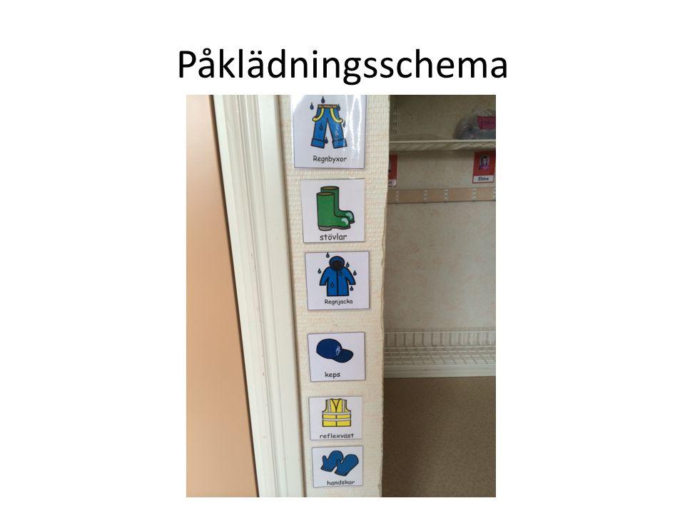 Påklädningsschema