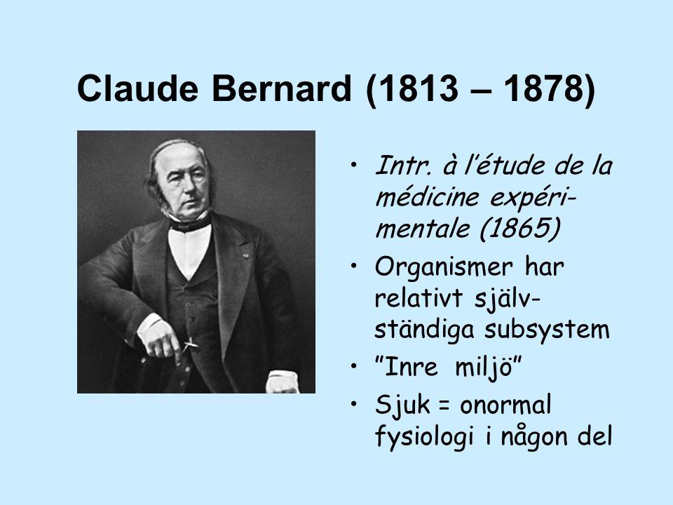 Claude Bernard (1813 – 1878) Intr.