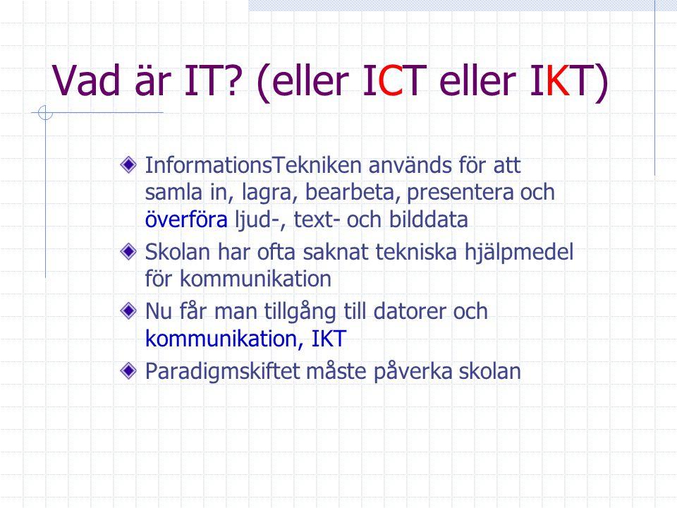 BIT-projektet 1996-1998