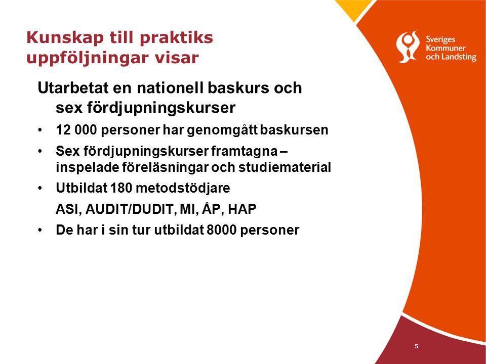 16 Vill du följa utvecklingen? www.skl.se/kunskaptillpraktik