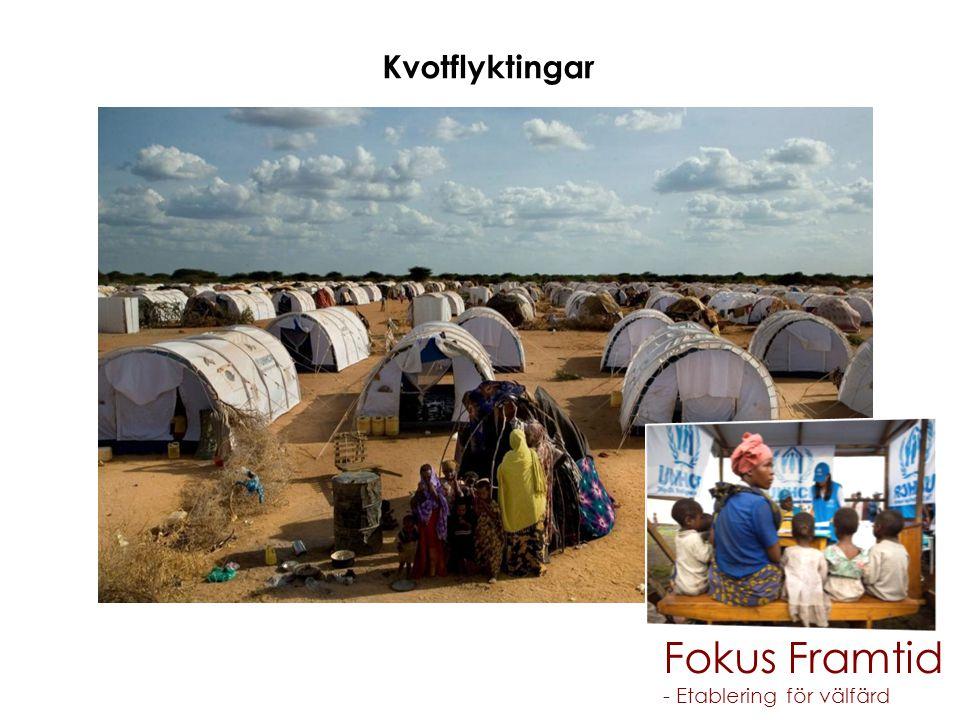 Fokus Framtid - Etablering för välfärd Kvotflyktingar