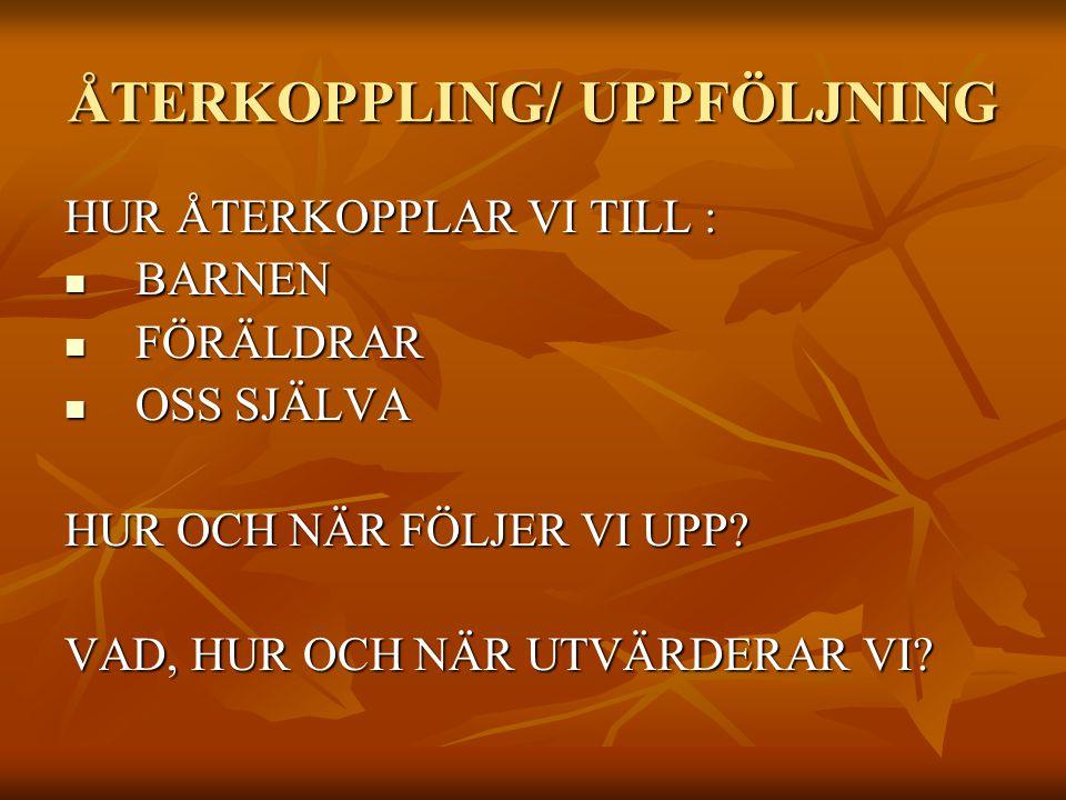METODER/ HJÄLPMEDEL VILKA METODER/ HJÄLPMEDEL SKA VI ANVÄNDA.