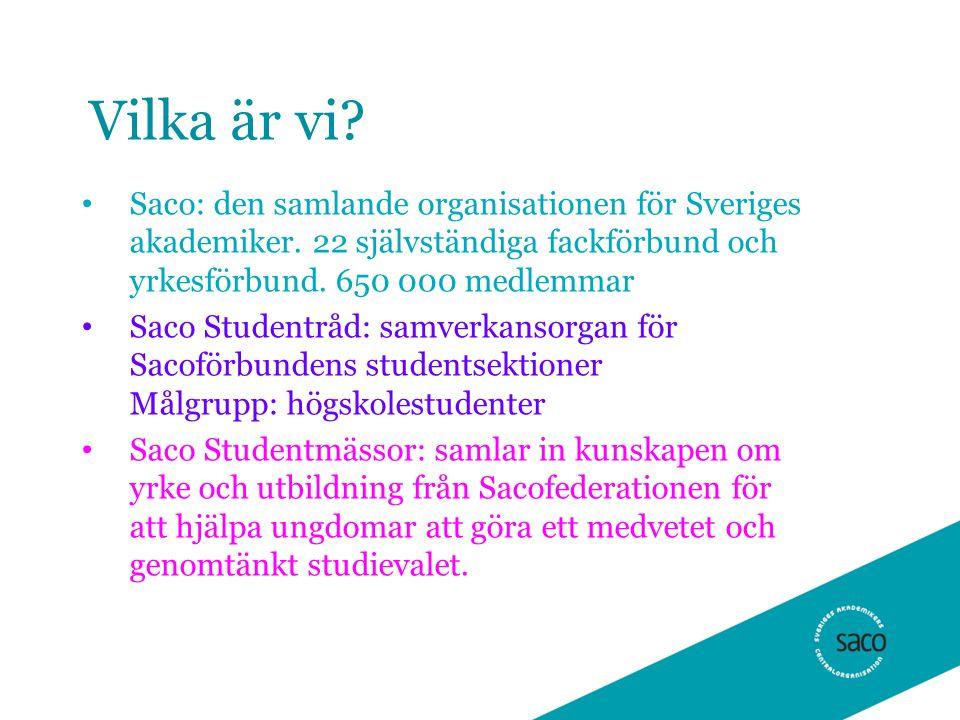 Boken Välja yrke Sedan 1958 Uppslagsbok över högskoleyrken Förbunden står för yrkestexterna Trycks i 100 000 ex, beställs kostnadsfritt av studie- och yrkesvägledare i ca 80 000 ex.