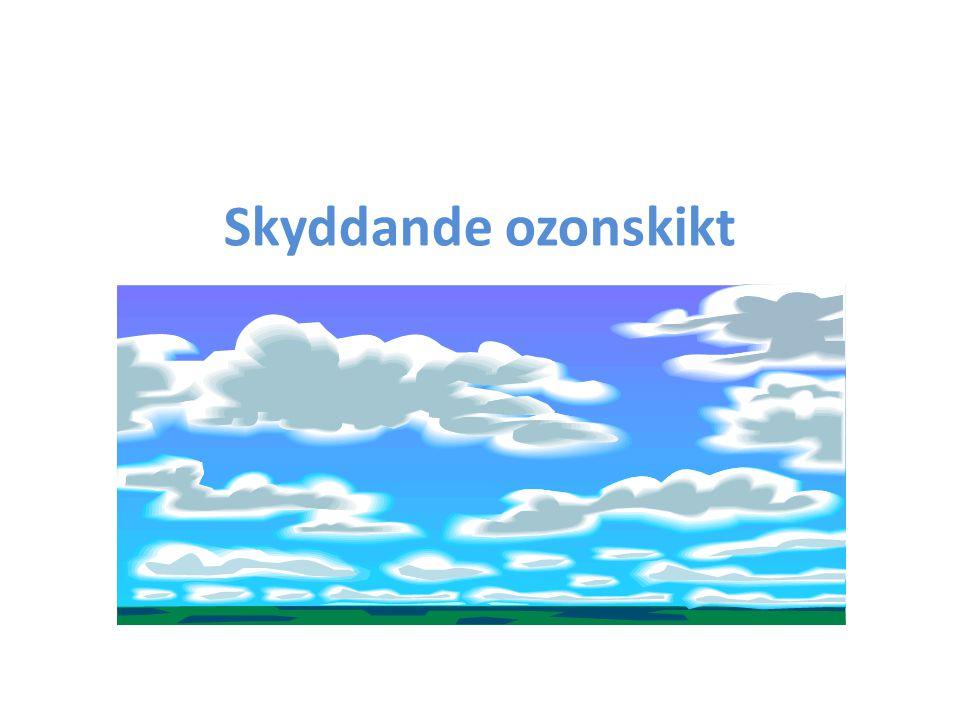 Allmänt om ozonmålet Det mesta löper på inom ramen för Montrealprotokollet Men det finns en del orostecken – Naturliga variationer, bristfällig kunskap och osäkerheter i vetenskapliga data – Klimatets påverkan – Lustgasutsläpp – HCFC minskar inte i den takt man förväntat