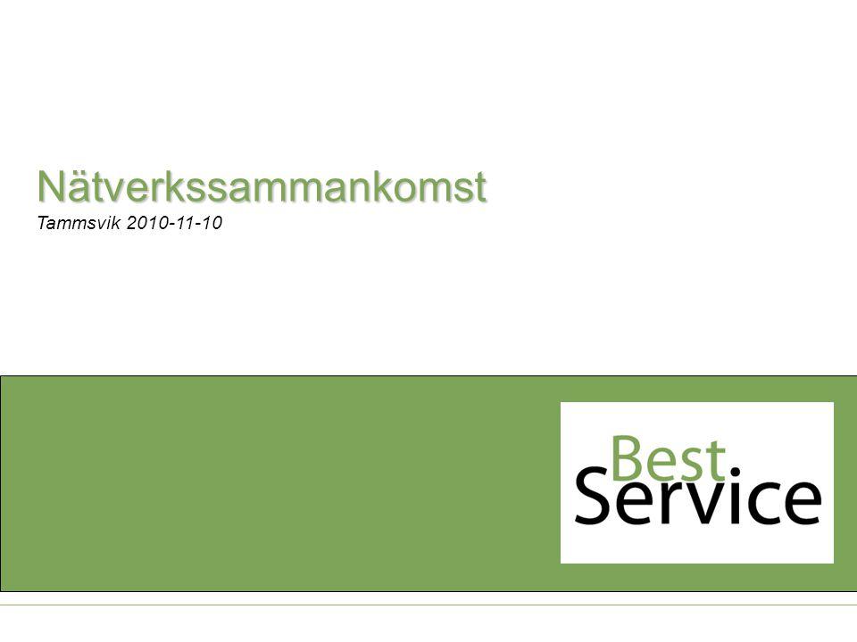 Tammsvik 2010-11-10 Nätverkssammankomst