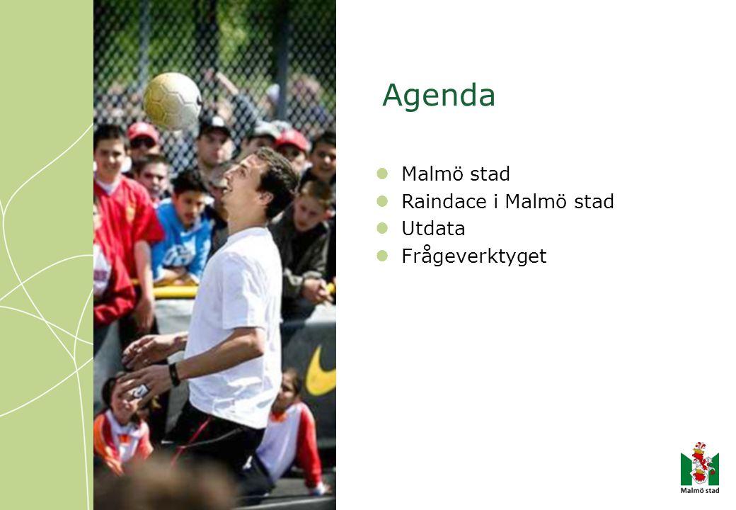 Agenda Malmö stad Raindace i Malmö stad Utdata Frågeverktyget