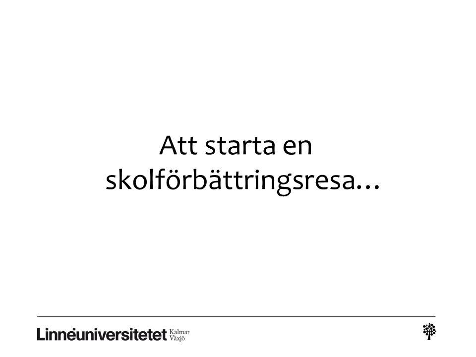 Nätverk för forskning och skolutveckling arbetsgång vårterminen 2011 Träff 3 (14/4 fm.