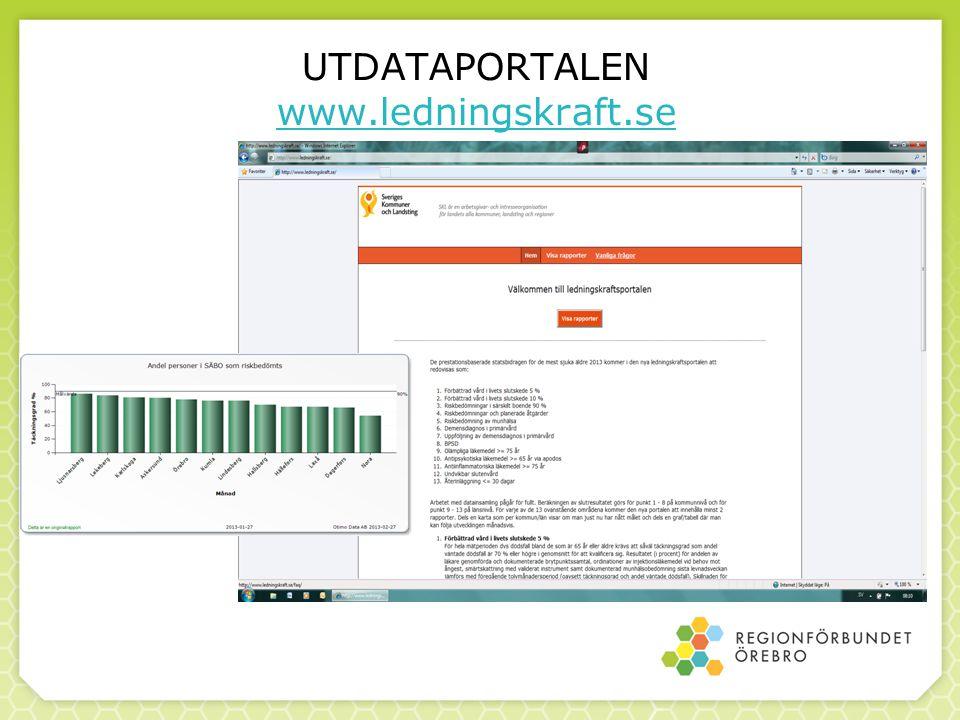 UTDATAPORTALEN www.ledningskraft.se www.ledningskraft.se