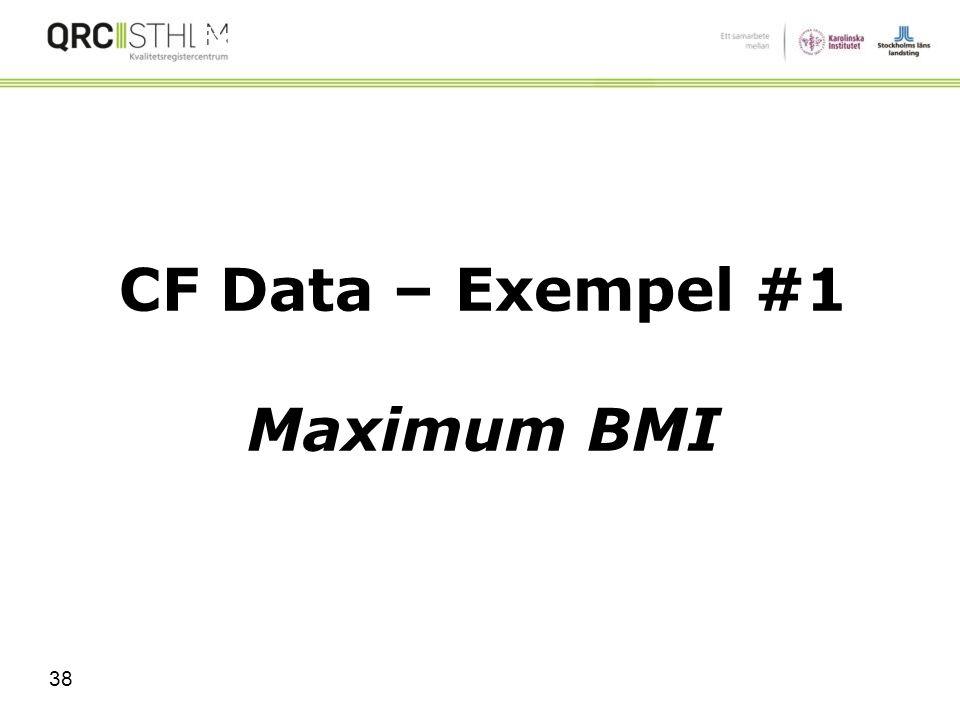 Val av algoritm XmR jmf. p Chart Vilken typ av data har jag? Attribut eller Nominell (ja/nej rätt/fel antingen/eller) Mått/variabel (Kontinuerlig) XmR