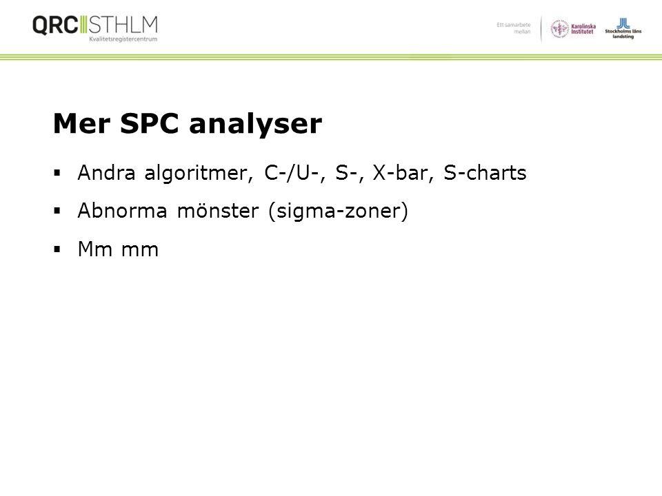 45 Det finns FEM Special Cause Signaler Answer Analys 1. Shifts = 1 2. Trends = 0 3. Punkter utanför gränser = 4 45