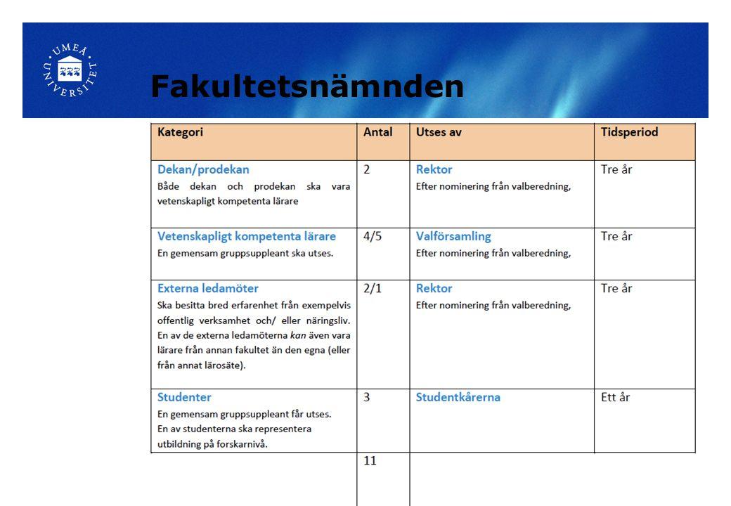 Valberedning Kristin Palmqvist, ordförande och sammankallande, institutionen för ekologi, miljö och geovetenskap; Kontaktperson för molekylärbiologi.