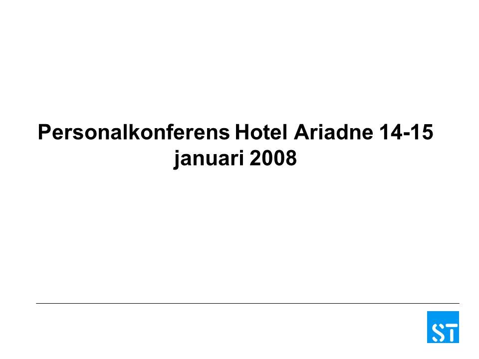 Personalkonferens Hotel Ariadne 14-15 januari 2008