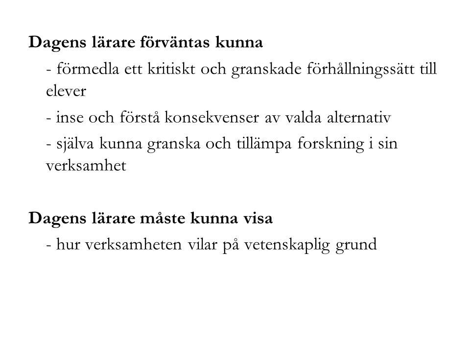 Kurslitteratur & styrdokument (se www.sociology.gu.se, klicka vidare till Utbildning och till Lärarprogrammet) Kursplan & litteraturlista (resp.