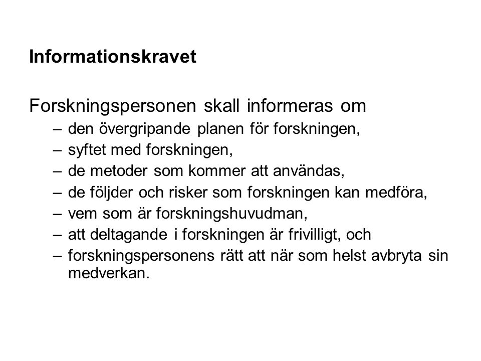 Text och Layout (Carle & Svensson s9, Stukát 151ff) Språk Tempus Källhänvisningar Citat Noter Tabeller & diagram Typsnitt (Times New Roman, 12p) Omfång (30-40 sidor, 80-100.000 tecken)